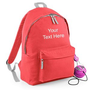 Personalised Fashion Backpack Rucksack